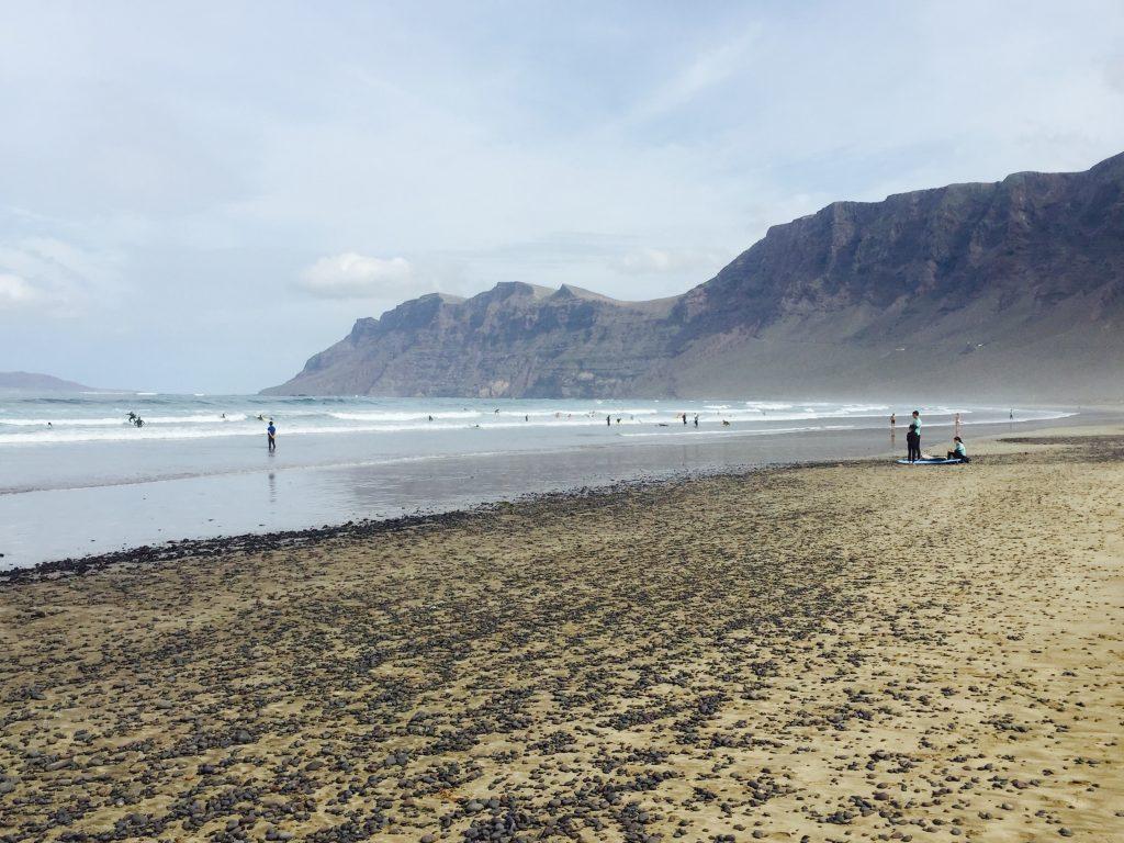 Lanzarote Playa de Famara