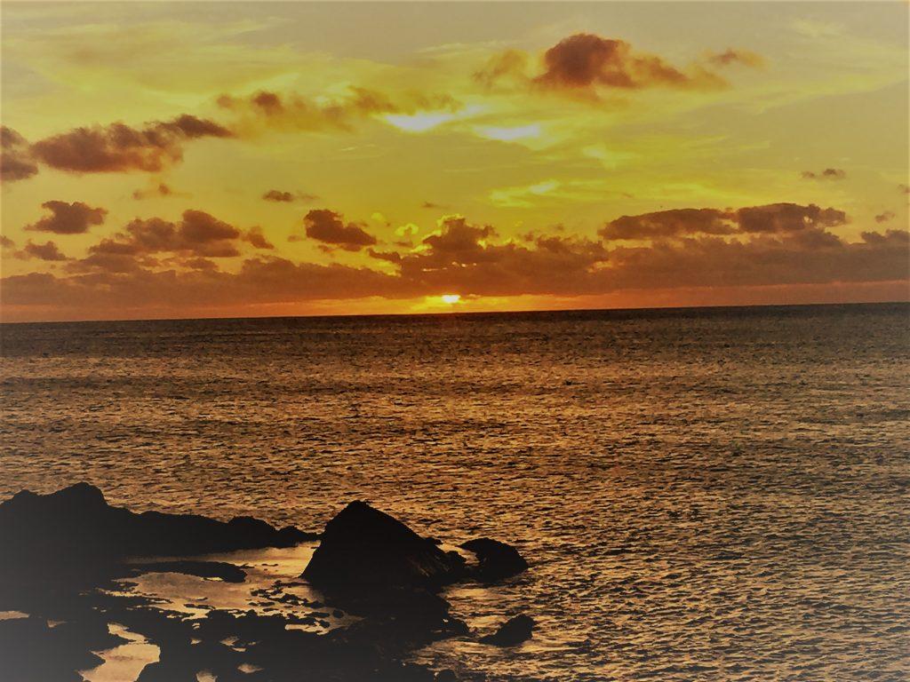 Lanzarote El Golfo Sunset