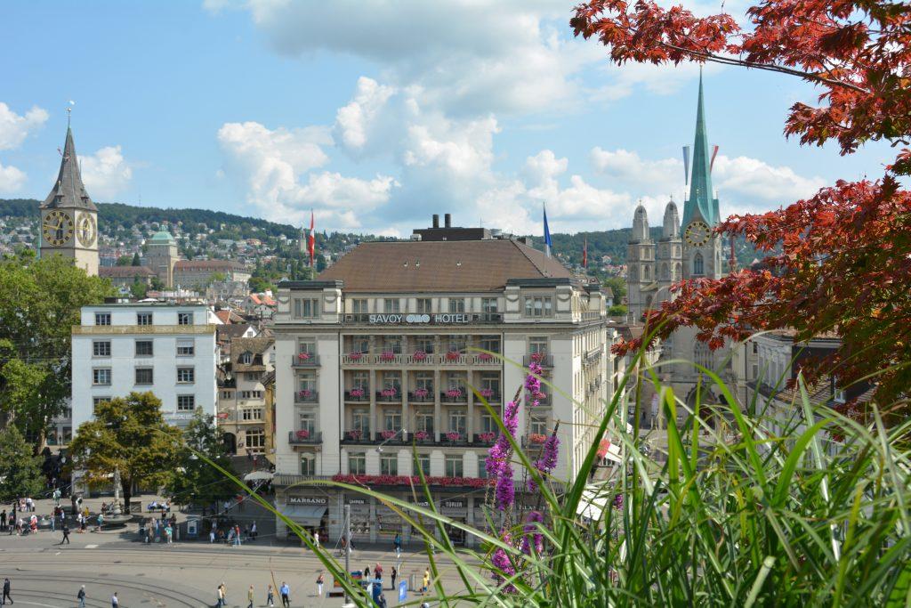 Paradeplatz Zurich