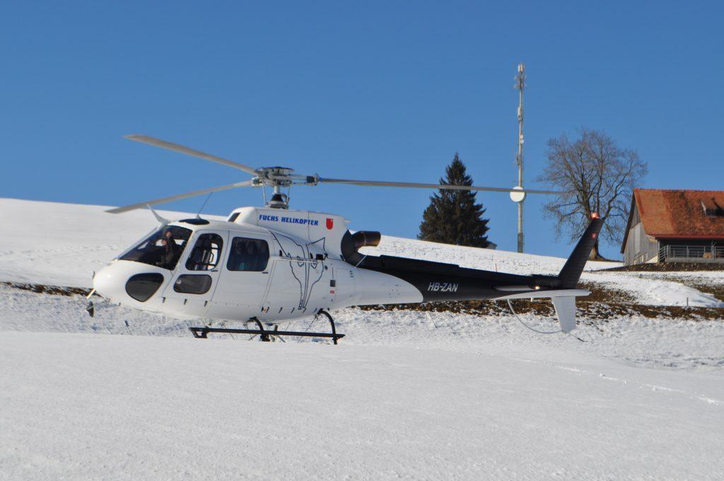 Helikopterflug Helikopter