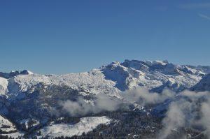 Helicopter Flight Glarus Alps