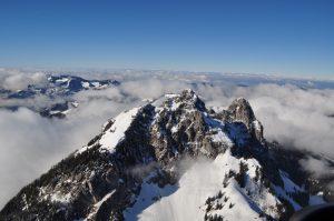 Helicopter Flight Central Switzerland