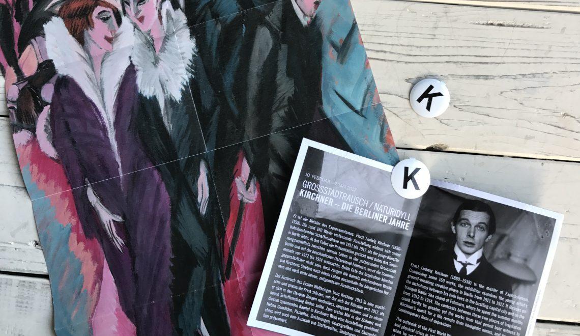 Tipp: Kunsthaus Zürich, Grossstadtrausch, Kirchner – Die Berliner Jahre