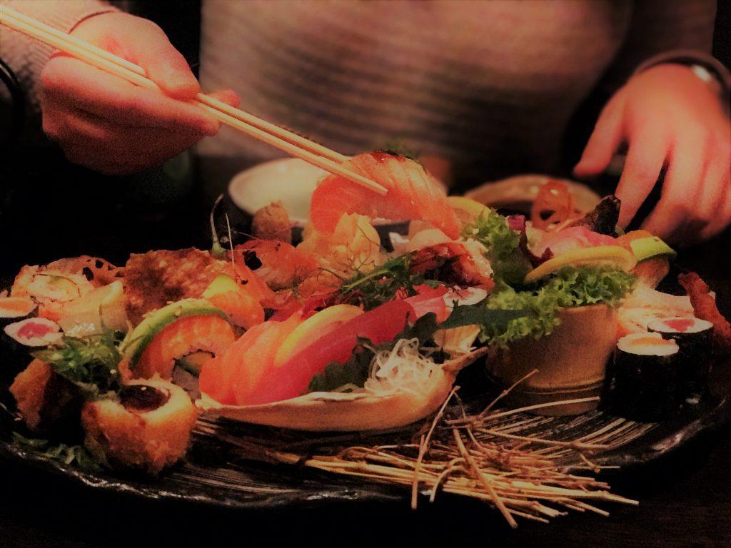 Ginger Zurich, Sushi Platter