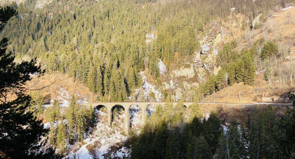 Das Landwasser Viaduct gehört zum UNESCO Weltkulturerbe.