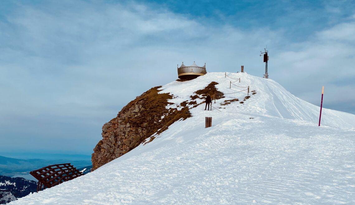 Winterwanderung Männlichen