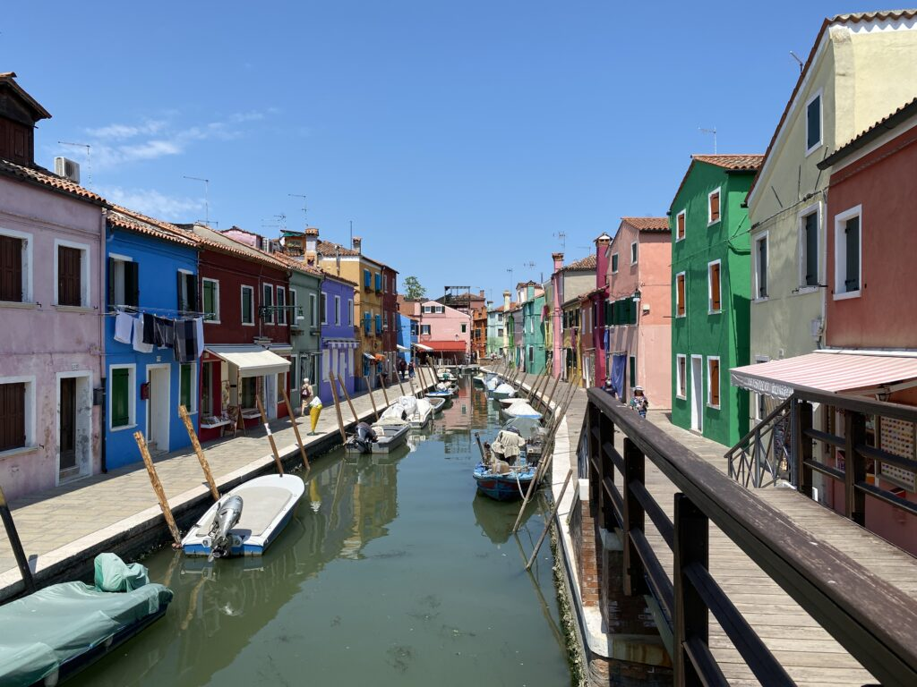 Tour of Northern Italy - Colors of Burano