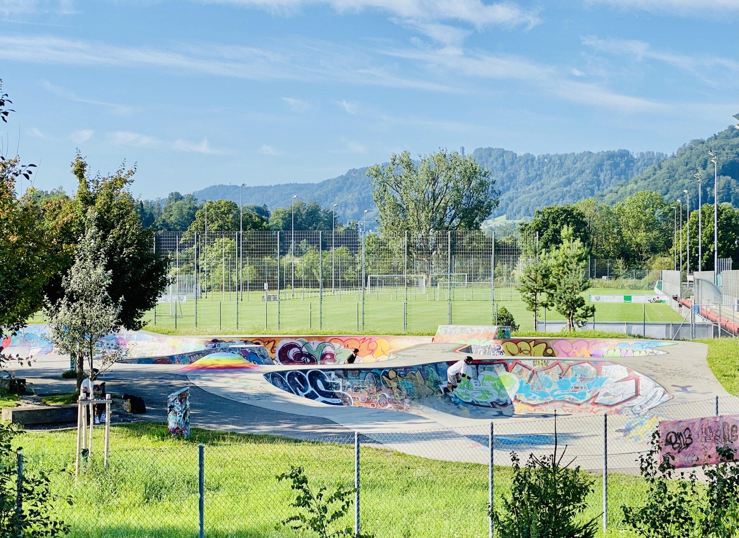 Allmend-Brunau oasis for sports enthusiasts